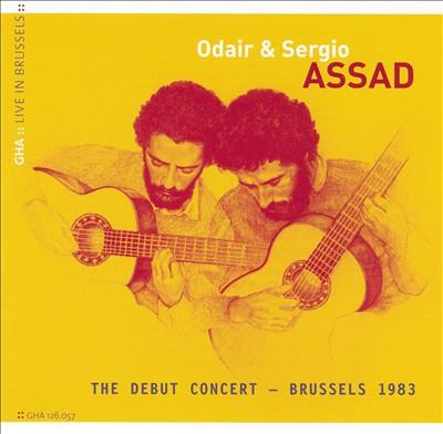 Odair & Sergio Assad: The Debut Concert, Brussels 1983