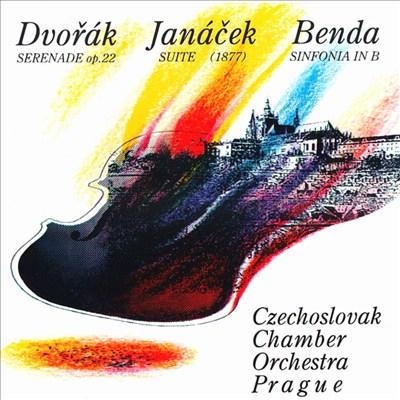 Czechoslovak Chamber Orchestra Prague performs Dvorak, Janacek and Benda