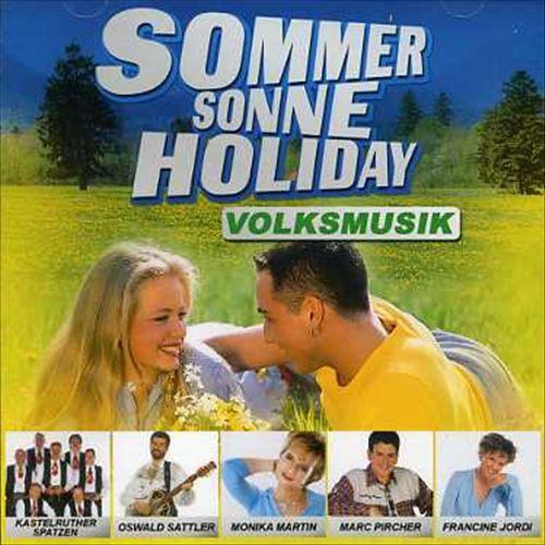 Sommer Sonne Holiday-Volksmusik