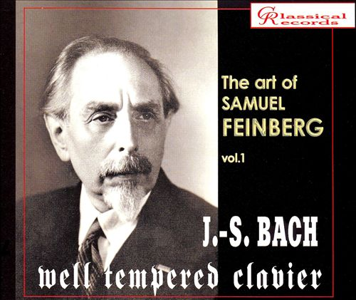 J.S. Bach: Well Tempered Clavier