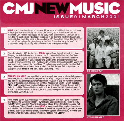 CMJ New Music, Vol. 91