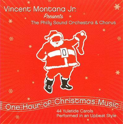 Vincent Montana Jr. Presents One Hour Of Christmas Music:  44 Yuletide Carols Performed In An Upbeat Style