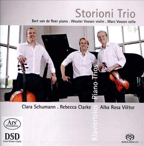 Clara Schumann, Rebecca Clarke, Alba Rosa Viëtor: Piano Trios