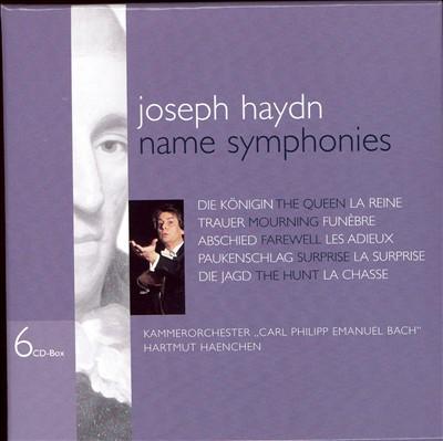 Haydn: Name Symphonies [Box Set]