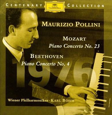 Mozart: Piano Concerto No. 23; Beethoven: Piano Concerto No. 4