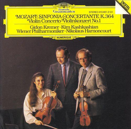 Mozart: Sinfonia Concertante, K. 364; Violin Concerto No. 1