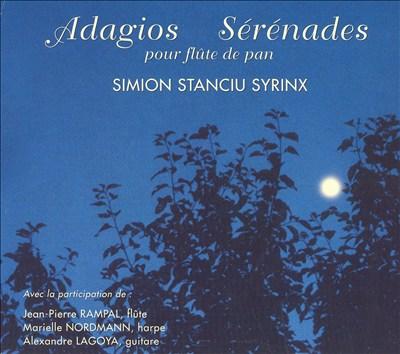 Adagios Sérénades pour flute de pan