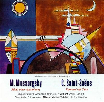 Mussorgsky: Bilder einer Ausstellung; Camille Saint-Saëns: Karneval der Tiere