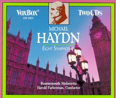 Michael Haydn: 8 Symphonies