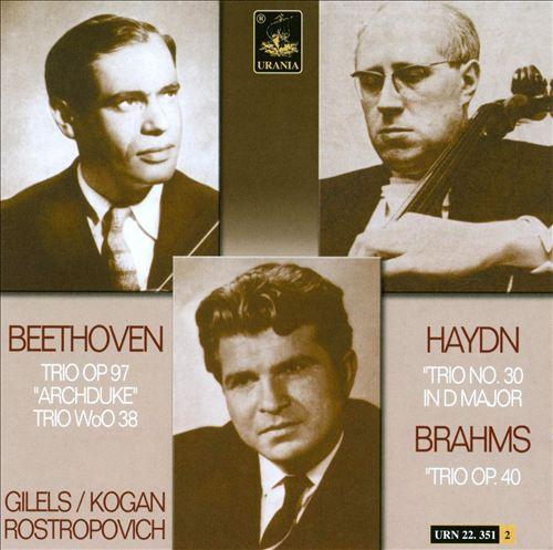 Beethoven, Haydn, Brahms: Trios