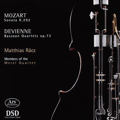 Mozart: Sonata, K. 292; Devienne: Bassoon Quartets, Op. 73