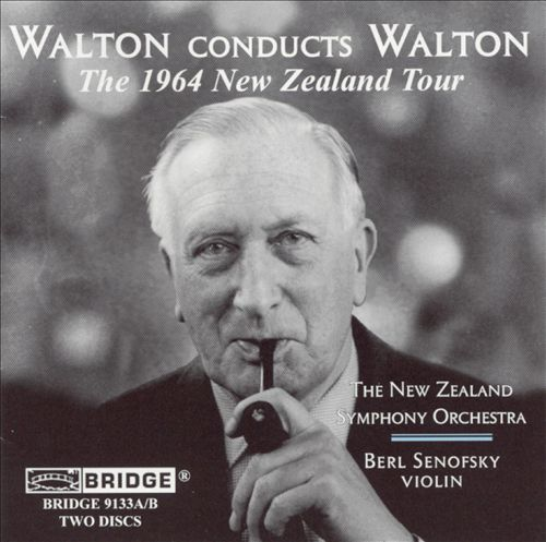 Walton Conducts Walton: The 1964 New Zealand Tour