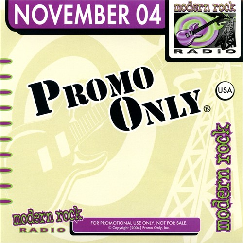 Promo Only: Modern Rock Radio (November 2004)