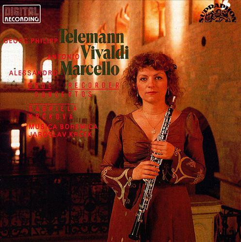 Marcello, Telemann and Vivaldi