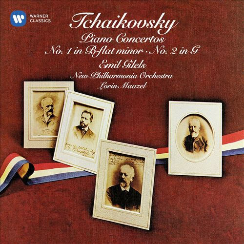 Tchaikovsky: Piano Concertos No. 1 in B-flat minor, No. 2 in G