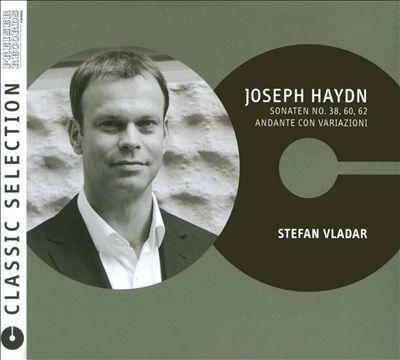 Joseph Haydn: Sonaten No. 38, 60, 62; Andante con Variazioni