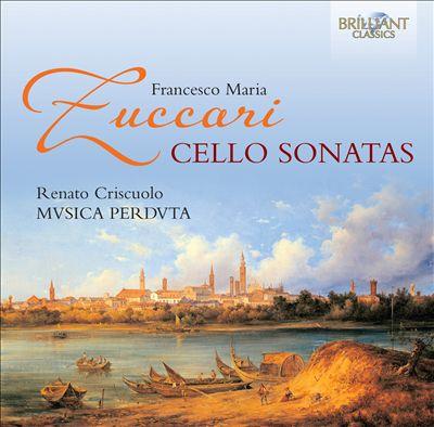 Francesco Maria Zuccari: Cello Sonatas