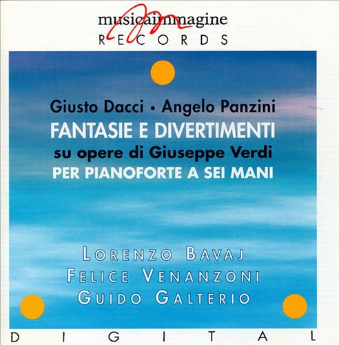 Fantasie & Divertimenti on Operas by Verdi