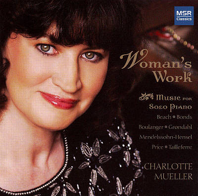 Woman's Work: Music for Solo Piano