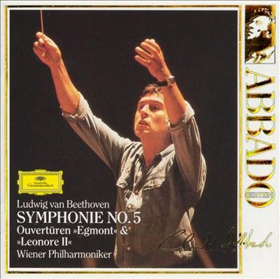"Beethoven: Symphonie No. 5; Ouvertüren ""Egmont"" & ""Leonore II"""