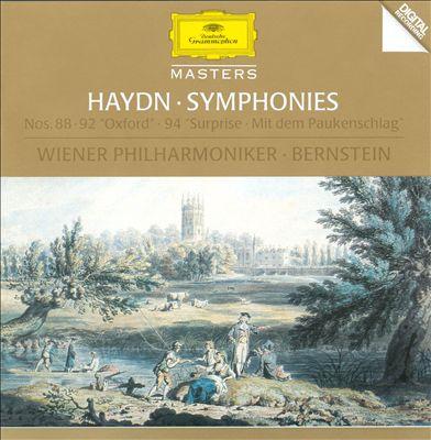 "Haydn: Symphonies Nos. 88-92 ""Oxford"" & 94 ""Surprise"" [Germany]"