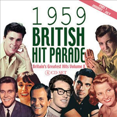 1959 British Hit Parade, Pt. 1: January-July