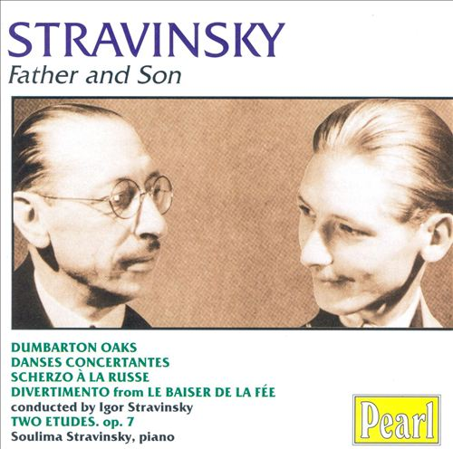 Stravinsky Father and Son