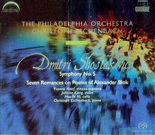 Shostakovich: Symphony No. 5; Seven Romances on Poems of Alexander Blok