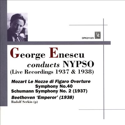 George Enescu conducts NYPSO: Mozart, Schumann, Beethoven