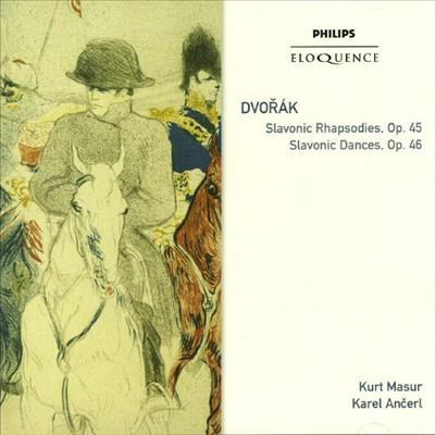 Dvorák: Slavonic Rhapsodies Op. 45; Slavonic Dances Op. 46 [Australia]