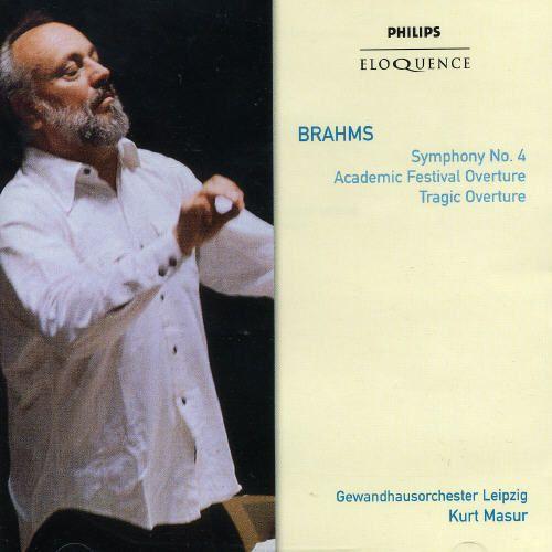 Brahms: Symphony No.4; Academic Festival Overture; Tragic Overture [Australia]