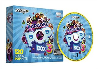 Zoom Karaoke Pop Box 3 Party Pack