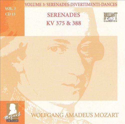 Mozart: Complete Works, Vol. 3 - Serenades, Divertimenti, Dances, Disc 13