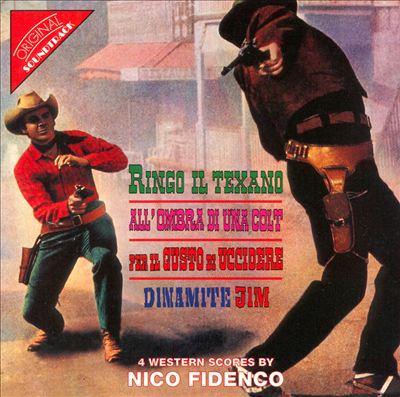 Four Western Scores by Nico Fidenco