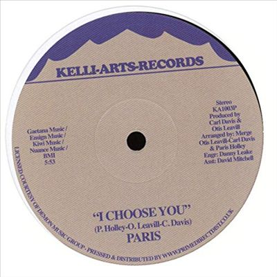 I Choose You/Punkin Funkin
