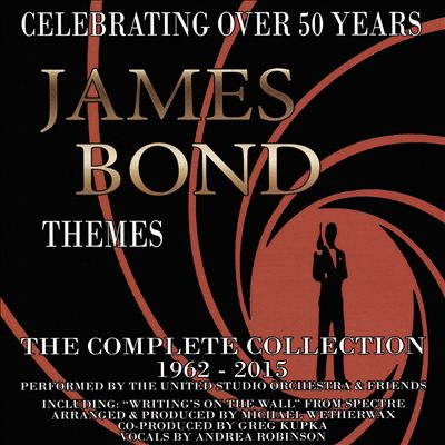 James Bond Themes: Complete Collection 1962-2015 [Original Soundtrack]