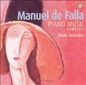 Manuel de Falla: Piano Music Complete