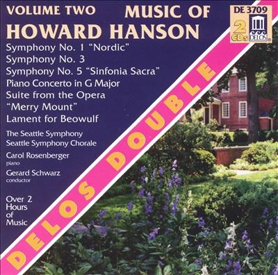 Music of Howard Hanson, Vol. 2