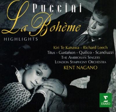 Puccini: La Boheme [Highlights]