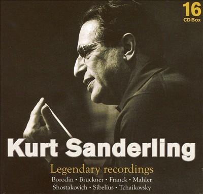 Kurt Sanderling: Legendary Recordings [Box Set]