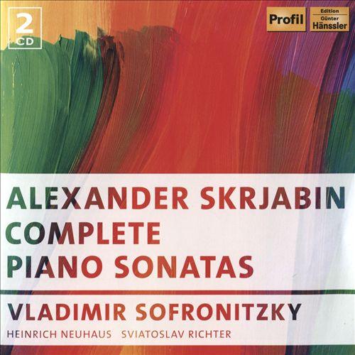 Alexander Skrjabin: Complete Piano Sonatas
