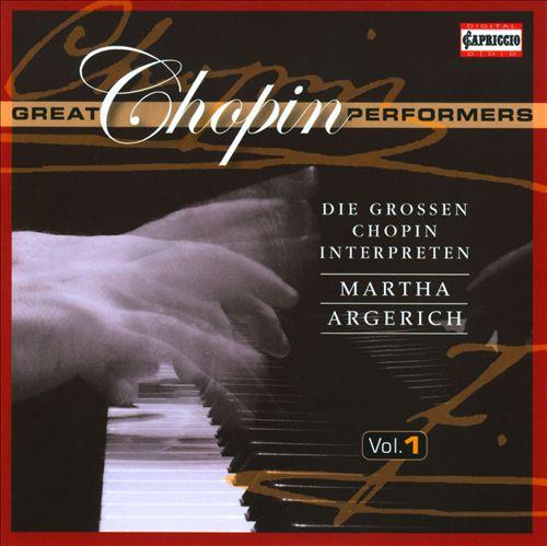 Great Chopin Performers, Vol. 1: Martha Argerich