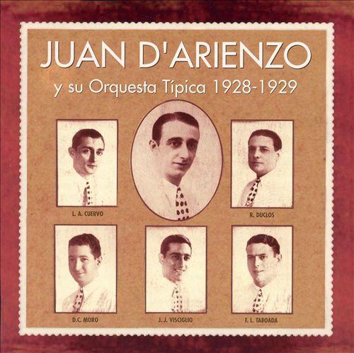 Juan d'Arienzo y Su Orquesta Típica 1928-1929