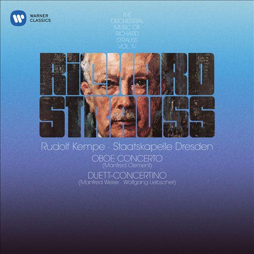 Richard Strauss: Oboe Concerto; Duett-Concertino