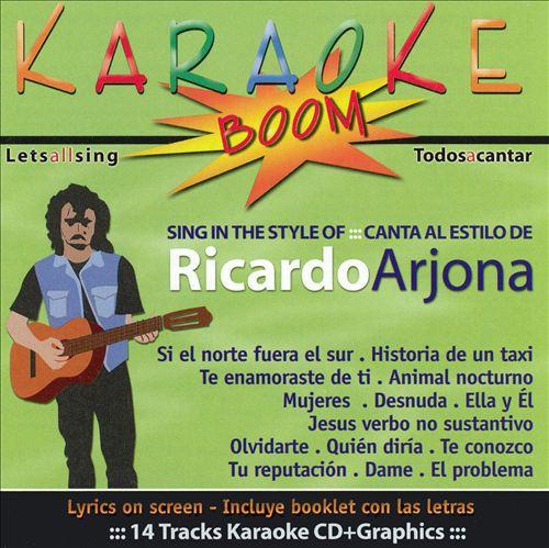 Canta Al Estilo de Ricardo Arjona