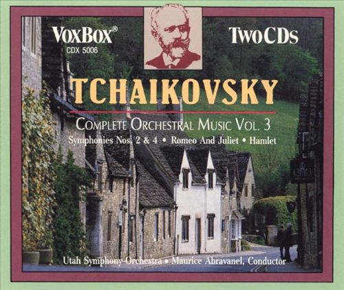 Tchaikovsky: Complete Orchestral Music, Vol. 3