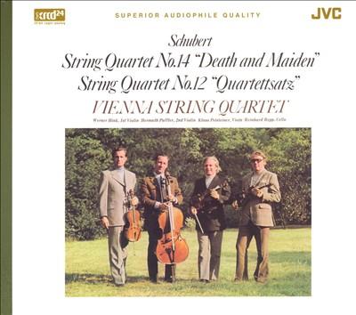 """Schubert: String Quartet No. 14 """"Death and Maiden""""; String Quartet No. 12 """"Quartettsatz"""""""