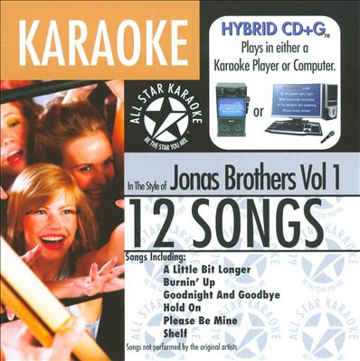 Karaoke: Jonas Brothers, Vol. 1