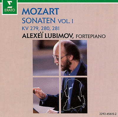 Mozart: Sonatas, Vol. 1 - KV 279, 280, 281