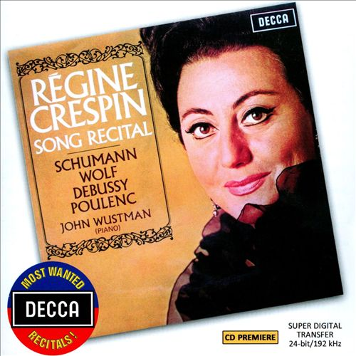 Song Recital: Schumann, Wolf, Debussy, Poulenc